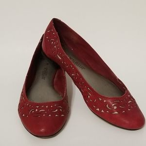 SEYCHELLES RED AND SILVER FLATS